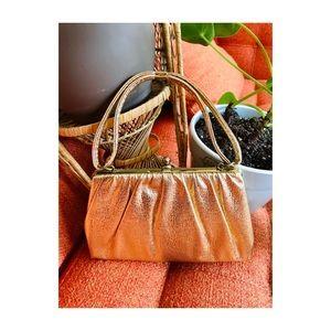 🌼NewToCloset- Gorgeous Gold Vintage Handbag